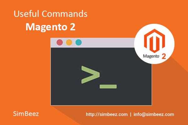Magento 2 Useful Commands