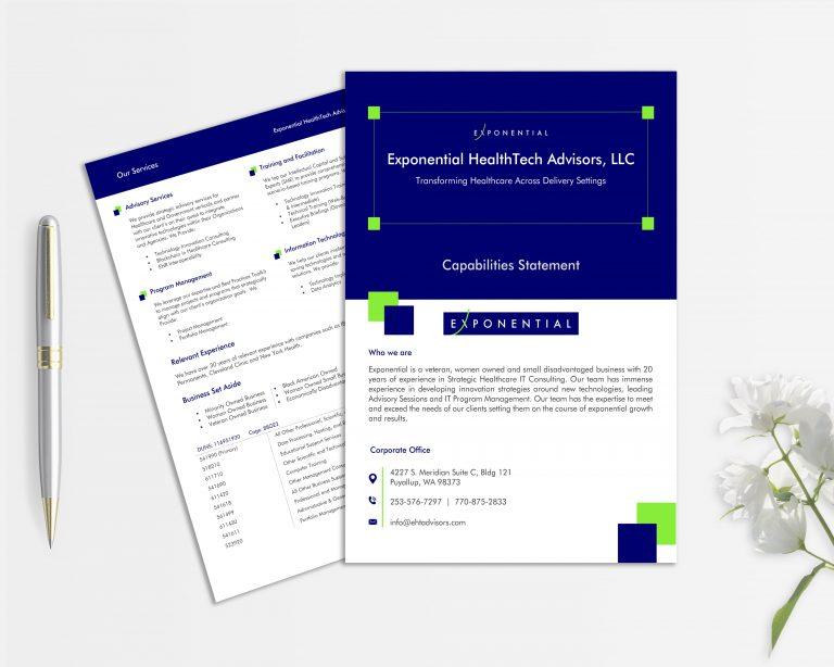 Company Profile, Capability Statements